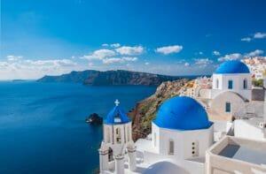 Santorin griechische Inseln Urlaub
