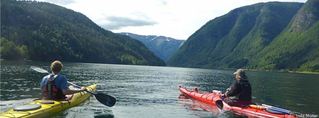 Kajak Reisen Boot Kanu