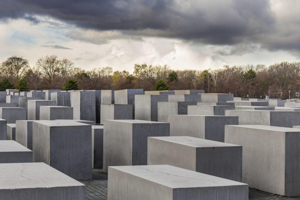 Holocaust Mahnmal, lizensiert bei Adobe Stock