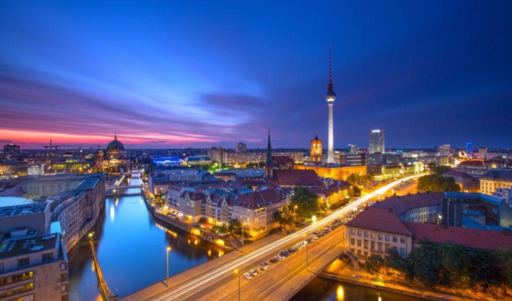 Blick über Berlin, lizensiert bei Adobe Stock