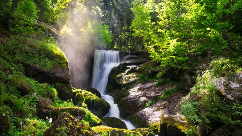 Triberger Wasserfälle, lizensiert bei Adobe Stock