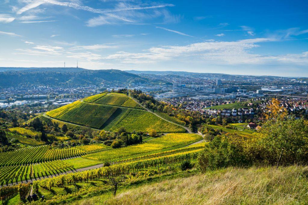 Stuttgart Natur, lizensiert bei Adobe Stock