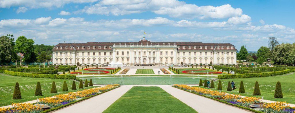 Residenzschloss Ludwigsburg, lizensiert bei Adobe Stock