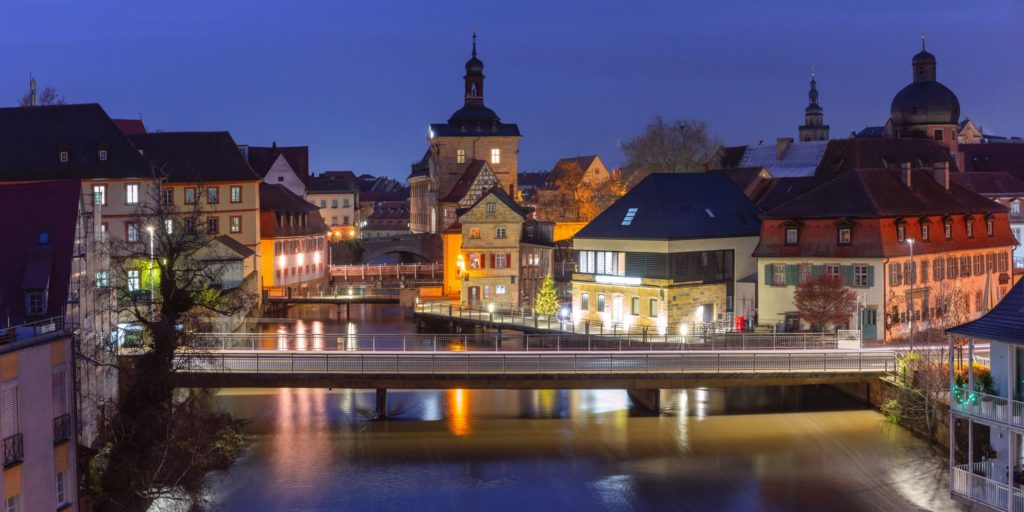 Altes Rathaus, Bamber, lizensiert bei Adobe Stock