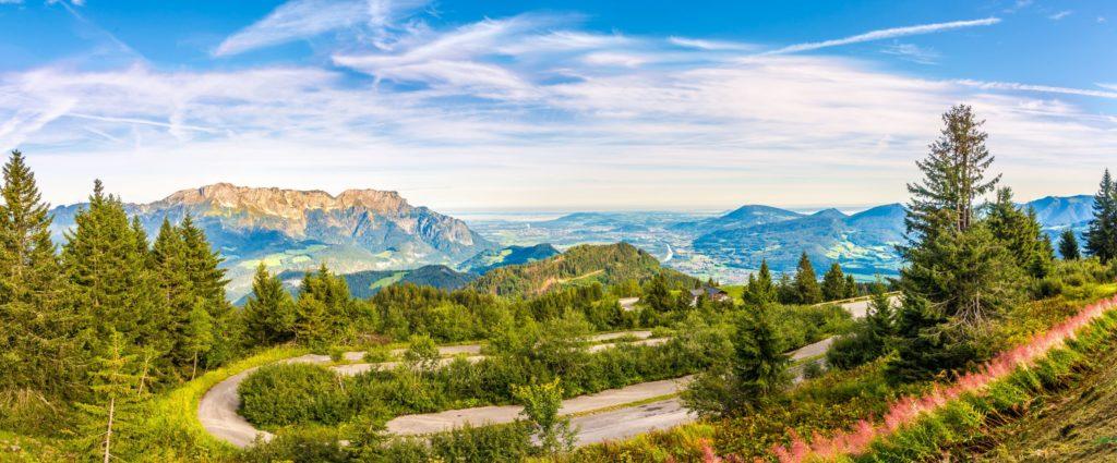 Rossfeld Panorama, lizensiert bei Adobe Stock