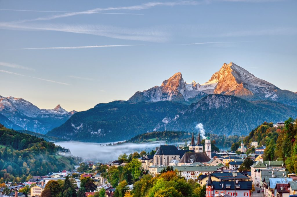 Berchtesgaden, Watzmann, lizensiert bei Adobe Stock