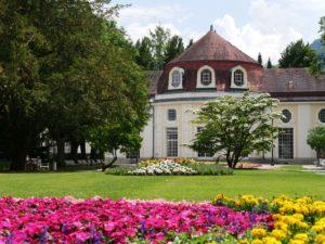 Kurgarten Bad Reichenhall, lizensiert bei Adobe Stock