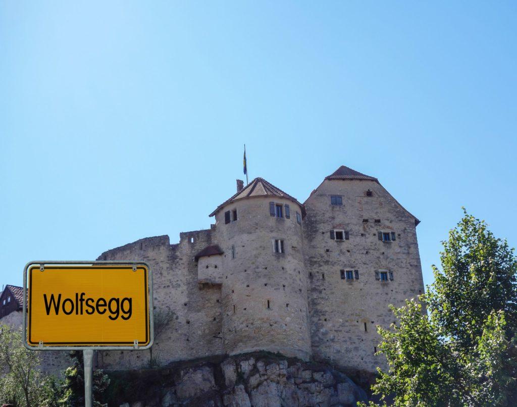 Burg Wolfsegg, lizensiert bei Adobe Stock