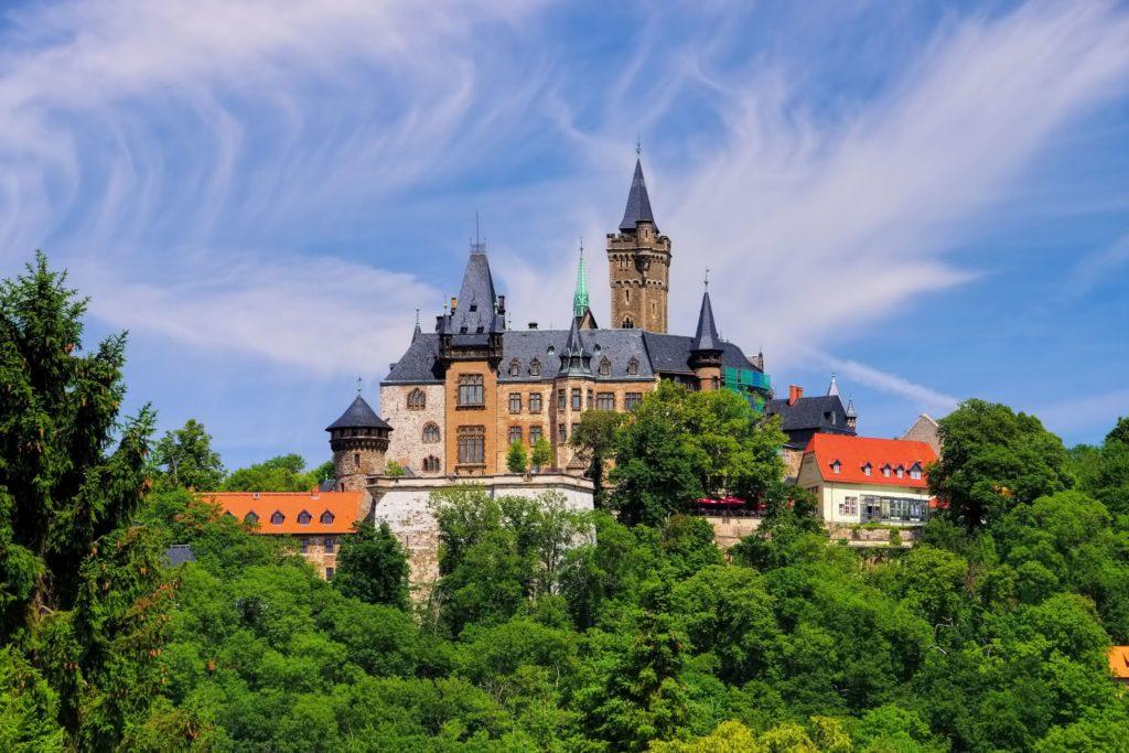 Wernigeröder Schloss, Lizensiert bei Adobe Stock