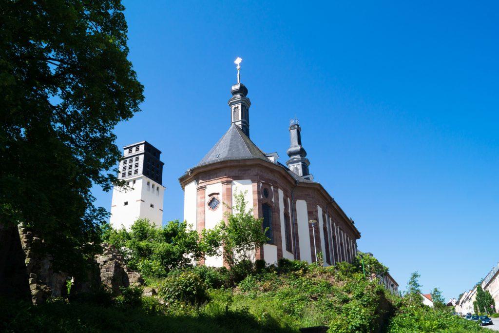 Blieskastel, Kirche, lizensiert bei Adobe Stock