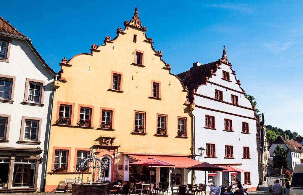 Altstadt Ottweiler, Lizensiert bei Adobe Stock
