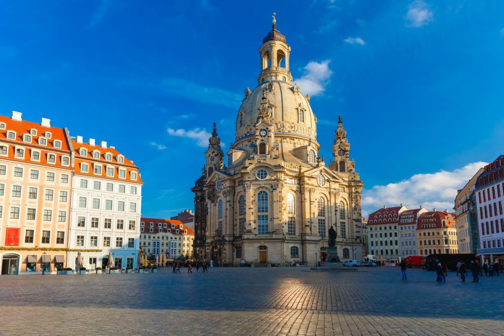 Frauenkirche, lizensiert bei Adobe Stock
