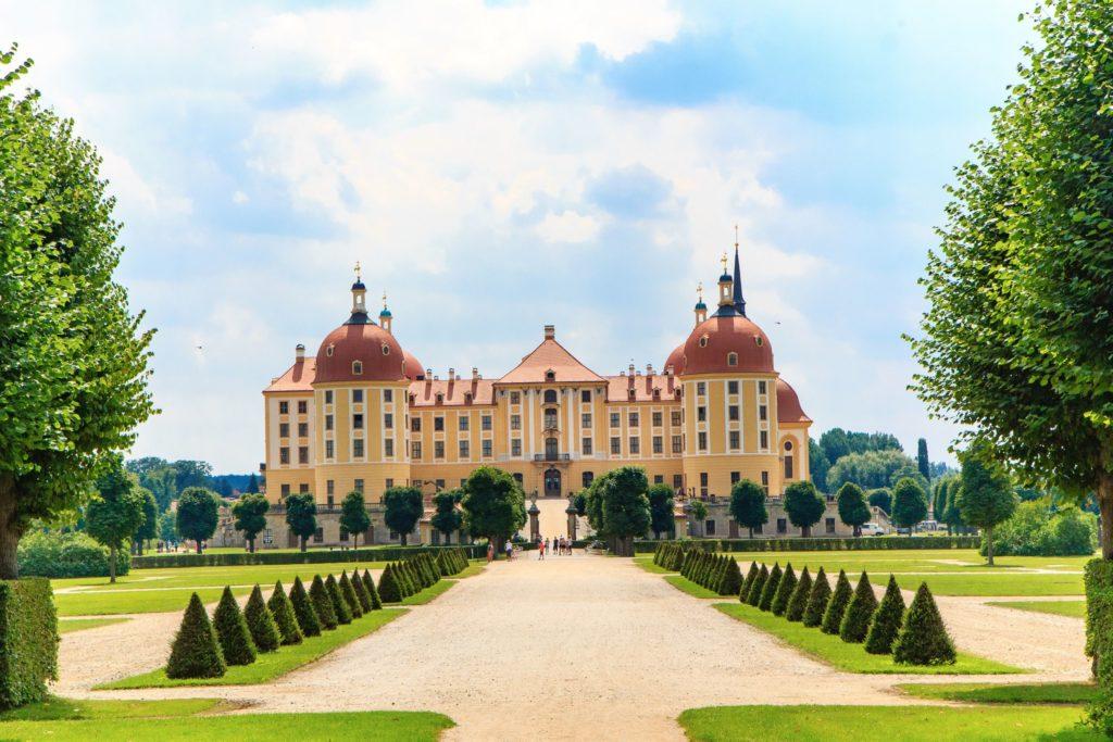 Schloss Moritzburg, lizensiert bei Adobe Stock
