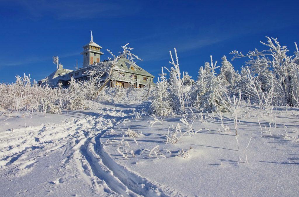 Fichtelberg im Winter, lizensiert bei Adobe Stock