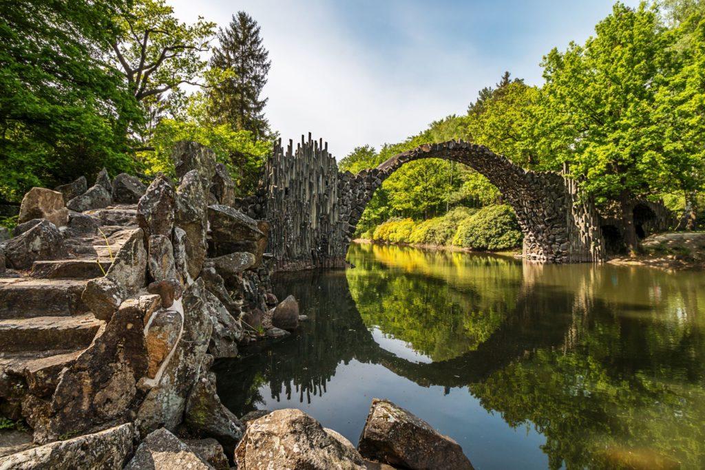Rakotzbrücke, lizensiert bei Adobe Stock