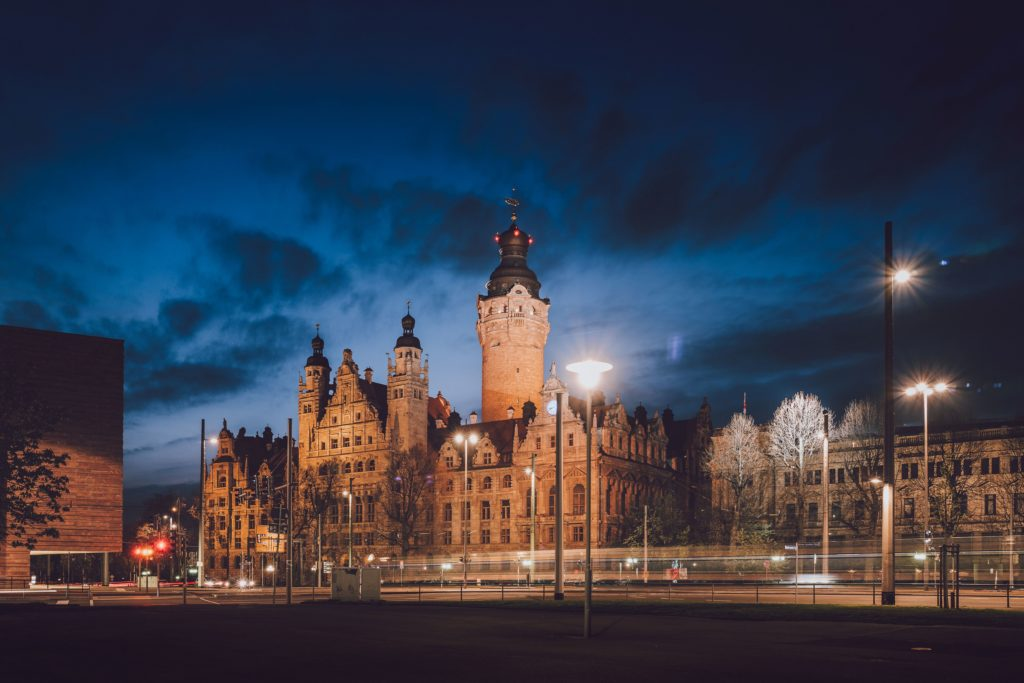 Neues Rathaus Leipzig, lizensiert bei Adobe Stock