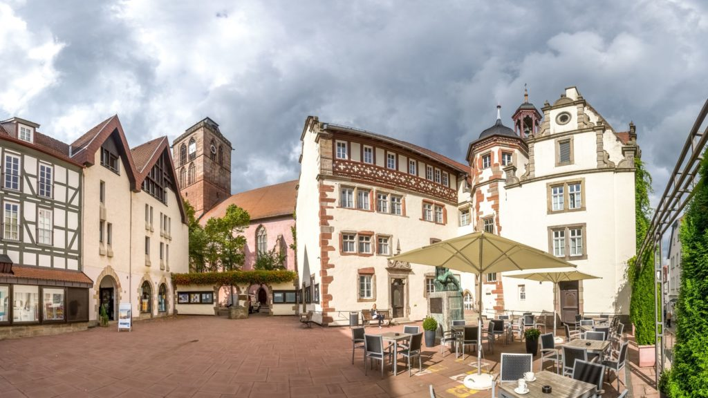 Rathaus Bad Hersfeld, lizensiert bei Adobe Stock