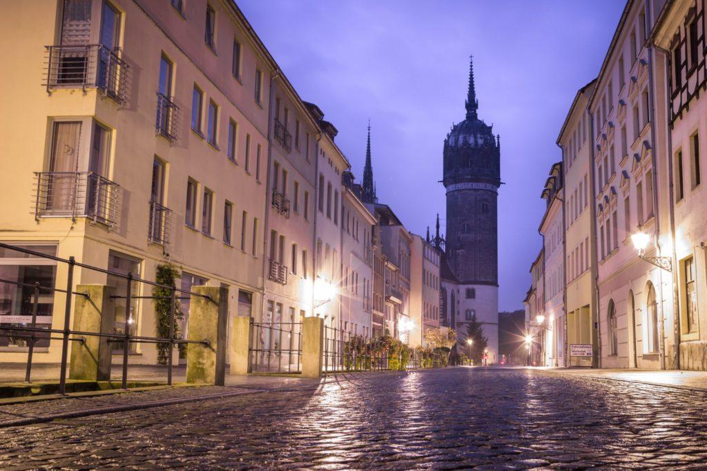 Schlosskirche Lutherstadt Wittenberg, lizensiert bei Adobe Stock