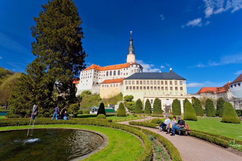 Schloss Weesenstein, lizensiert bei Adobe Stock