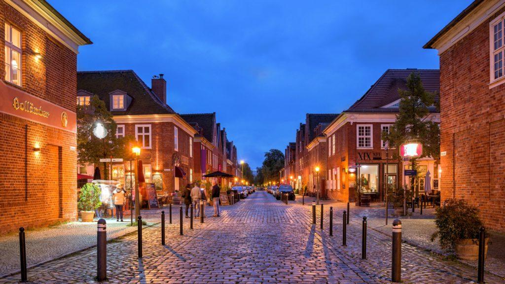 Holländisches Viertel, lizensiert bei Adobe Stock