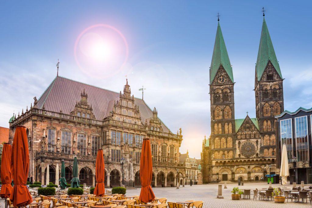 Bremen Marktplatz, lizensiert bei Adobe Stock