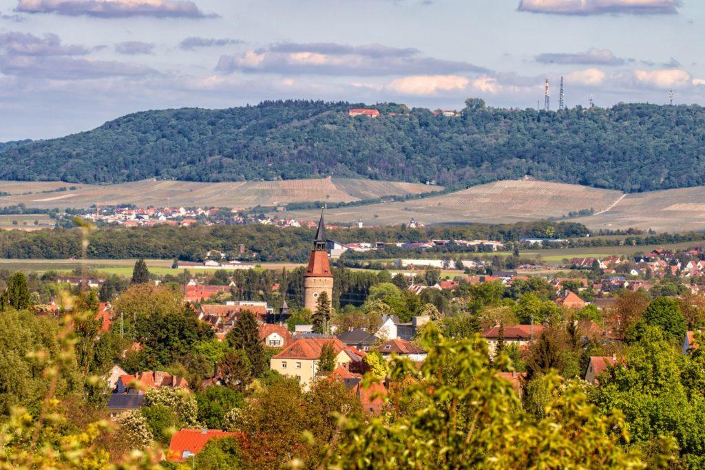 Fränkisches Weinland, Kitzingen Schwanberg, lizensiert bei Adobe Stock