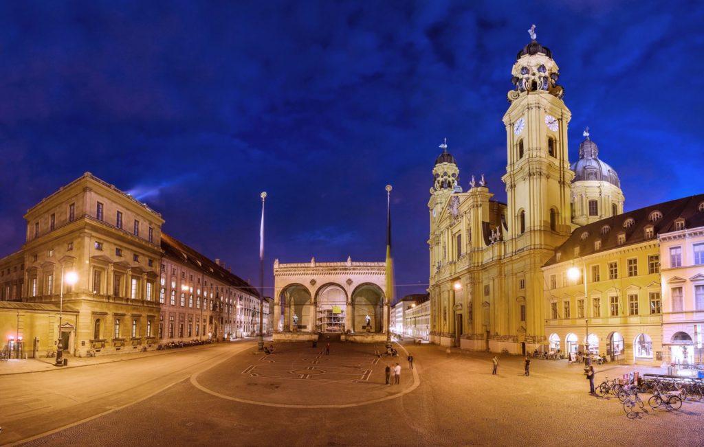 München Odeonsplatz. lizensiert bei Adobe Stock