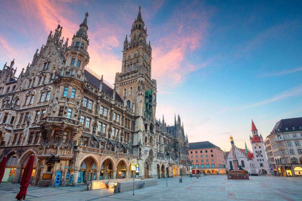 München Rathaus. lizensiert bei Adobe Stock