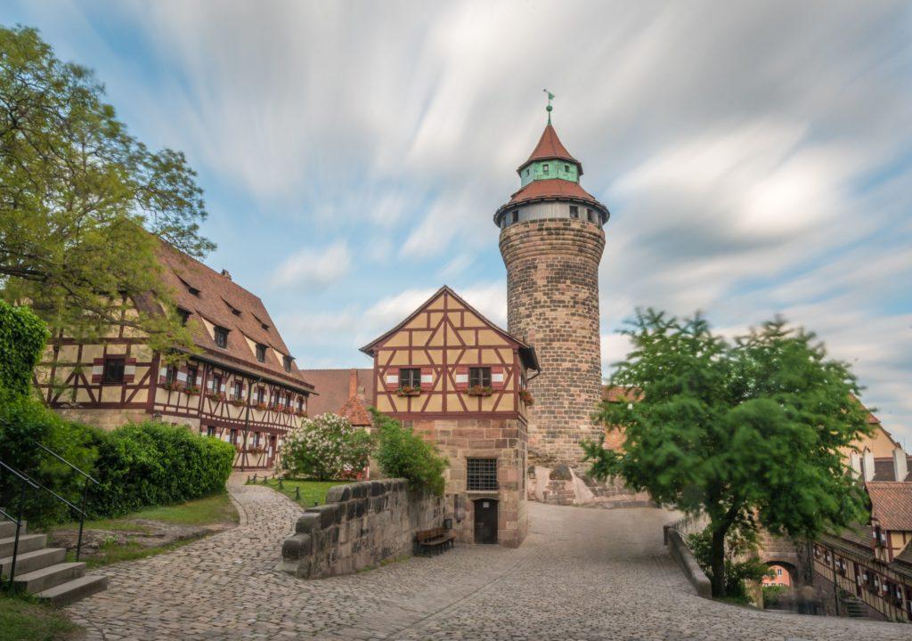 Kaiserburg, lizensiert bei Adobe Stock